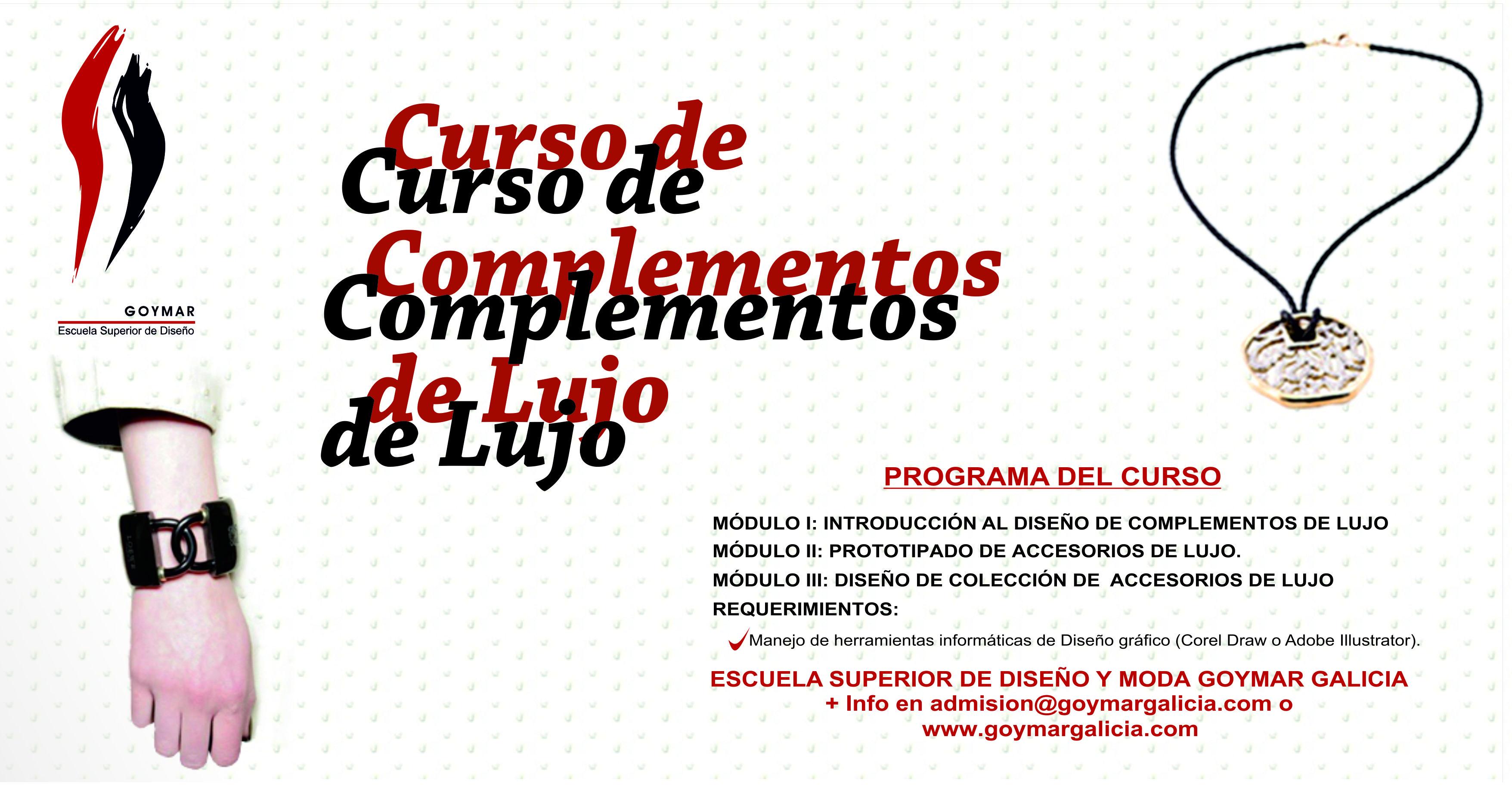 c9f3ce28ab4d Curso de complementos de lujo – Galiciademoda