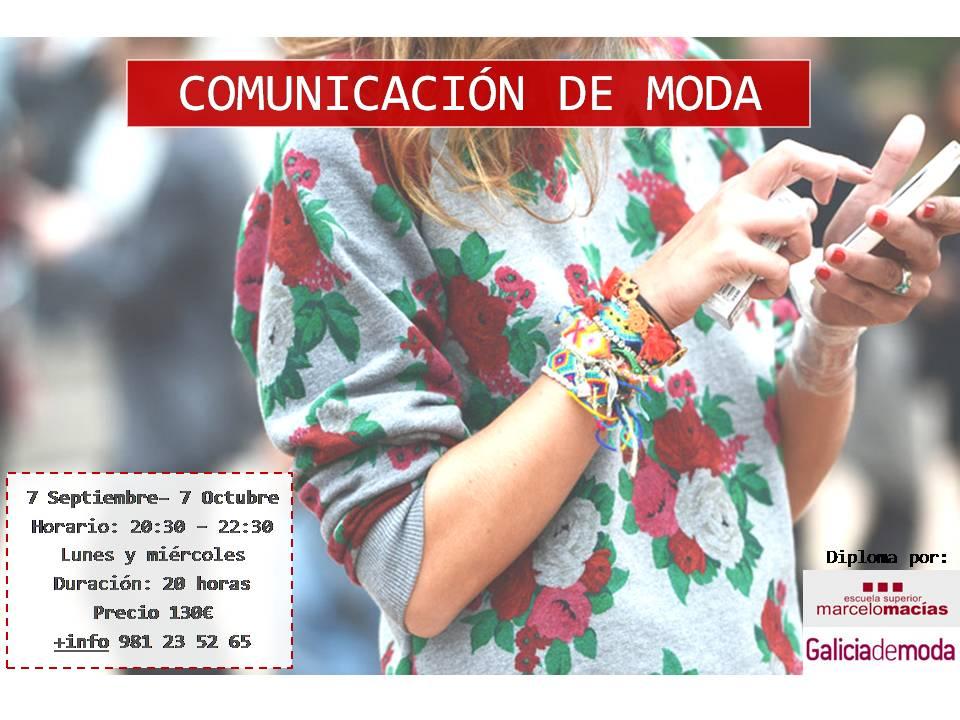 COMUNICACIÓN DE MODA sseptiembre
