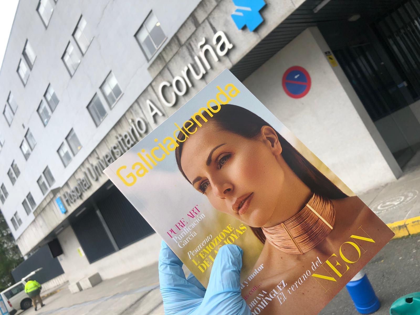 Galiciademoda aporta su granito de arena en la lucha contra el Covid-19