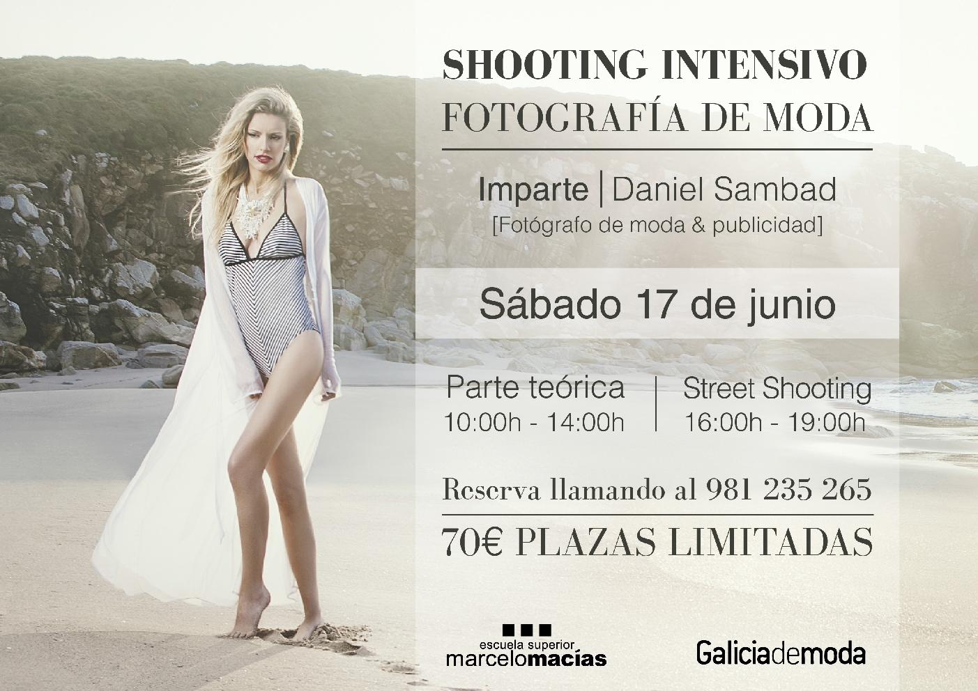 SHOOTING INTENSIVO FOTOGRAFÍA DE MODA