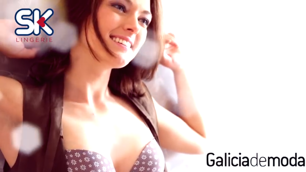 Galicia de moda realiza la producción del catálogo otoño-invierno 2014/2015 para la firma SK Lingerie.